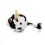 View Image 3 of Country Critter Faballs Dog Toy - Cow