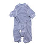 View Image 3 of Cozy Thermal Dog Pajamas - Blue