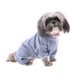 View Image 1 of Cozy Thermal Dog Pajamas - Blue