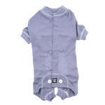 View Image 2 of Cozy Thermal Dog Pajamas - Blue