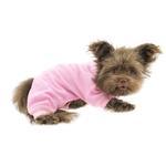 View Image 3 of Cozy Thermal Dog Pajamas - Pink