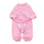 View Image 2 of Cozy Thermal Dog Pajamas - Pink