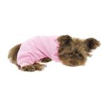 View Image 4 of Cozy Thermal Dog Pajamas - Pink