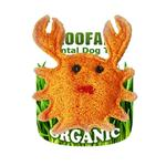 View Image 1 of Crab Loofah Dental Dog Toy