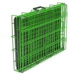 View Image 2 of Crate Appeal Collapsible Wire Dog Crate - Lime Twist