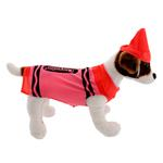 View Image 2 of Crayola Crayon Dog Costume by Rasta Imposta - Red