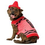 View Image 1 of Crayola Crayon Dog Costume by Rasta Imposta - Red