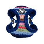 View Image 1 of Crayon Comfort Dog Harness By Puppia - Navy