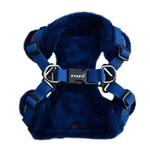 View Image 2 of Crayon Comfort Dog Harness By Puppia - Navy