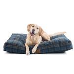View Image 4 of Crescent Lake Plaid Pet Napper Dog Bed by Pendleton Pet