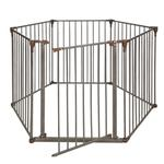 View Image 1 of Crown Convertible Pet Yard and Gate - Bronze/Dark Brown