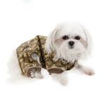 View Image 3 of Crown Dog Pajamas by Hip Doggie - Brown