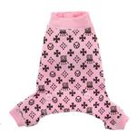 View Image 4 of Crown Dog Pajamas by Hip Doggie - Pink