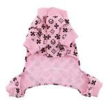 View Image 3 of Crown Dog Pajamas by Hip Doggie - Pink