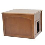 View Image 1 of Crown Cat Litter Cabinet - Mahogany