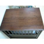 View Image 2 of Crown Pet Wood Dog Crate - Espresso
