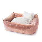 View Image 1 of Crystal Dog Bed by Hello Doggie - Champagne
