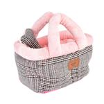 View Image 1 of Da Vinci Basket Dog Bed By Pinkaholic - Pink