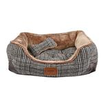View Image 2 of Da Vinci Dog Bed By Pinkaholic - Brown