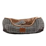 View Image 1 of Da Vinci Dog Bed By Pinkaholic - Brown