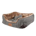 View Image 3 of Da Vinci Dog Bed By Pinkaholic - Brown
