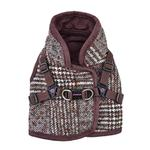 View Image 1 of Da Vinci Vest Dog Harness By Pinkaholic - Brown