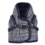 View Image 1 of Da Vinci Vest Dog Harness By Pinkaholic - Navy