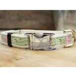 View Image 2 of Maui Dog Collar and Leash Set by Diva Dog