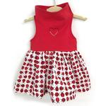 View Image 1 of Daisy and Lucy Ladybug Dog Dress