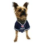 View Image 2 of Dallas Cowboys Officially Licensed Dog Jersey - White Trim
