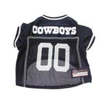 View Image 3 of Dallas Cowboys Officially Licensed Dog Jersey - White Trim