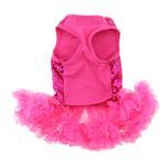 View Image 2 of Dark Pink Sequin Pet Dress by Pawpatu