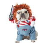 View Image 1 of Deadly Doll Halloween Dog Costume