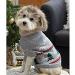 View Image 4 of Holidazzle Dog Sweater by Dog Threads