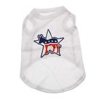 View Image 1 of Democratic Party Star Dog Tank Top - White