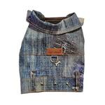 View Image 1 of Denim Patch Dog Harness Vest by Cloak & Dawggie