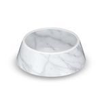 View Image 1 of Carrara Marble Dog Bowl by TarHong