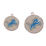 View Image 2 of Detroit Lions Team Camo Dog Collar and Tag by Yellow Dog