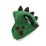 View Image 2 of Dino Dog Hat by Dogo - Green