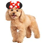 View Image 1 of Disney Minnie Mouse Headpiece Dog Costume by Rubies