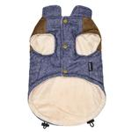 View Image 2 of Dobaz Denim Suede Dog Jacket