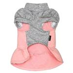 View Image 2 of Dobaz Quilted Winter Dog Dress - Pink