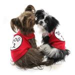 View Image 4 of Dog 2 Dog Tank by Parisian Pet - Red