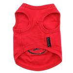View Image 2 of Dog 2 Dog Tank by Parisian Pet - Red
