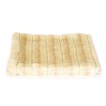 View Image 2 of Luxury Faux Fur Crate Liner by The Dog Squad - Caramel Mink