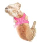 View Image 1 of Parisian Corset Dog Harness by The Dog Squad - Pink