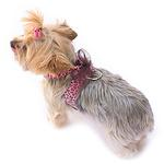 View Image 2 of Parisian Corset Dog Harness by The Dog Squad - Pink Leopard