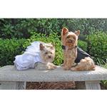 View Image 5 of Dog Wedding Harness Dress Set by Doggie Design