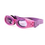View Image 1 of Doggles - ILS Pink Frame with Flowers Lilac Lens