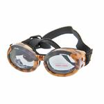 View Image 1 of Doggles - ILS2 Leopard Frame with Smoke Lens